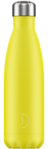 Chillys Yellow Neon 500ml bottle