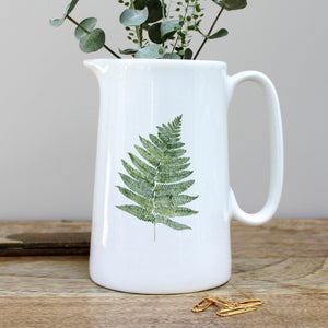 Toasted Crumpet Fern Pint Jug
