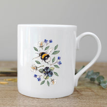 Load image into Gallery viewer, Toasted Crumpet Wild Flower Meadows Bee Mug