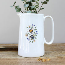 Load image into Gallery viewer, Toasted Crumpet Wild Flower Meadows Bees Pint Jug