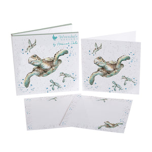 Wrendale Turtles Notecard Pack