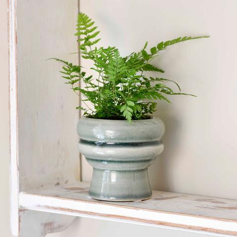 Burgon & Ball - Florence Glazed Pot - Green