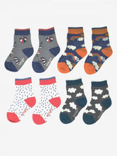 Load image into Gallery viewer, Thought - Overcast Bamboo Kids Weather Socks Gift Boxed