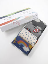 Load image into Gallery viewer, Thought - Overcast Bamboo Baby Weather Socks Gift Boxed