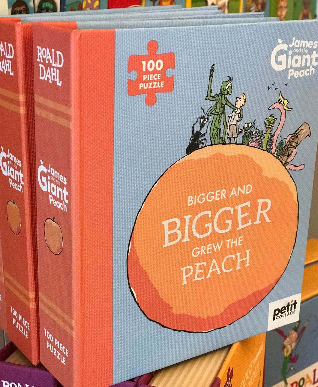 Roald Dahl - Jigsaw Bigger and Bigger Grew the Peach