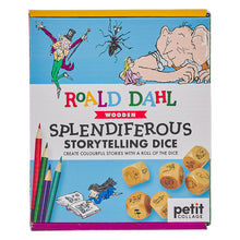 Load image into Gallery viewer, Roald Dahl nSplendiferous Storytelling Dice