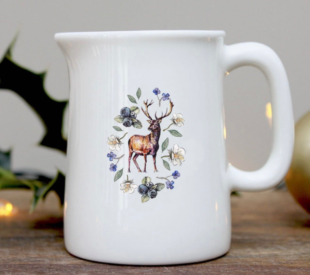 Toasted Crumpet - Woodland Creatures Stag Mini Jug