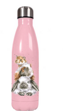 Load image into Gallery viewer, Wrendale - Piggy in the Middle Water Bottle