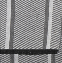 Load image into Gallery viewer, Men's scarf - Grey mix herringbone stripe.