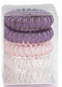 Top Model Spiral Hair Bands SO HAPPY
