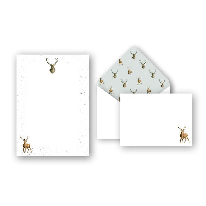 Wrendale Designs - Wild at Heart Stag Letter Writing Set