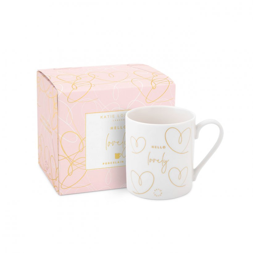 Katie Loxton - Boxed Porcelain Mug - Hello Lovely