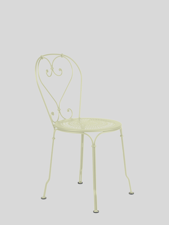 1900 Stacking Chair - Willow Green Furniture Fermob