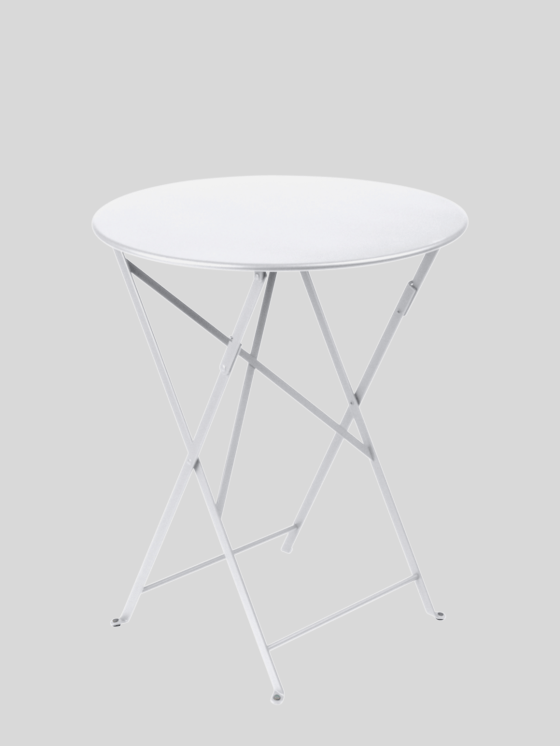 Bistro Folding Table - Cotton White Table Fermob