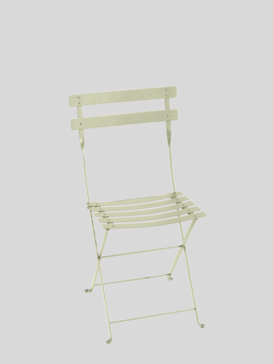 Bistro Metall Folding Chair - Willow Green Furniture Fermob