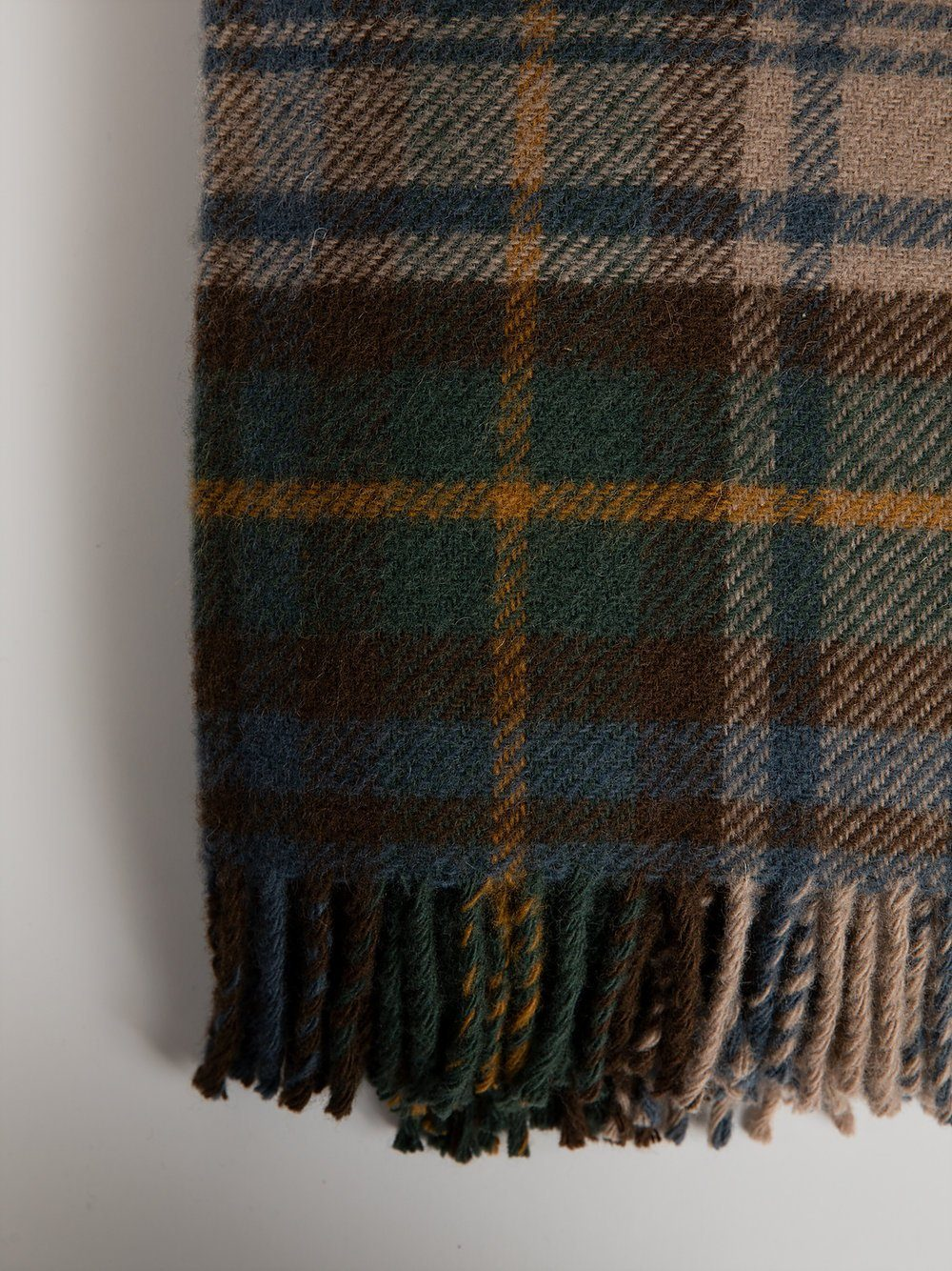 Blanket in New Wool - Dress Gordon Antique Blanket Tartan Blanket Company