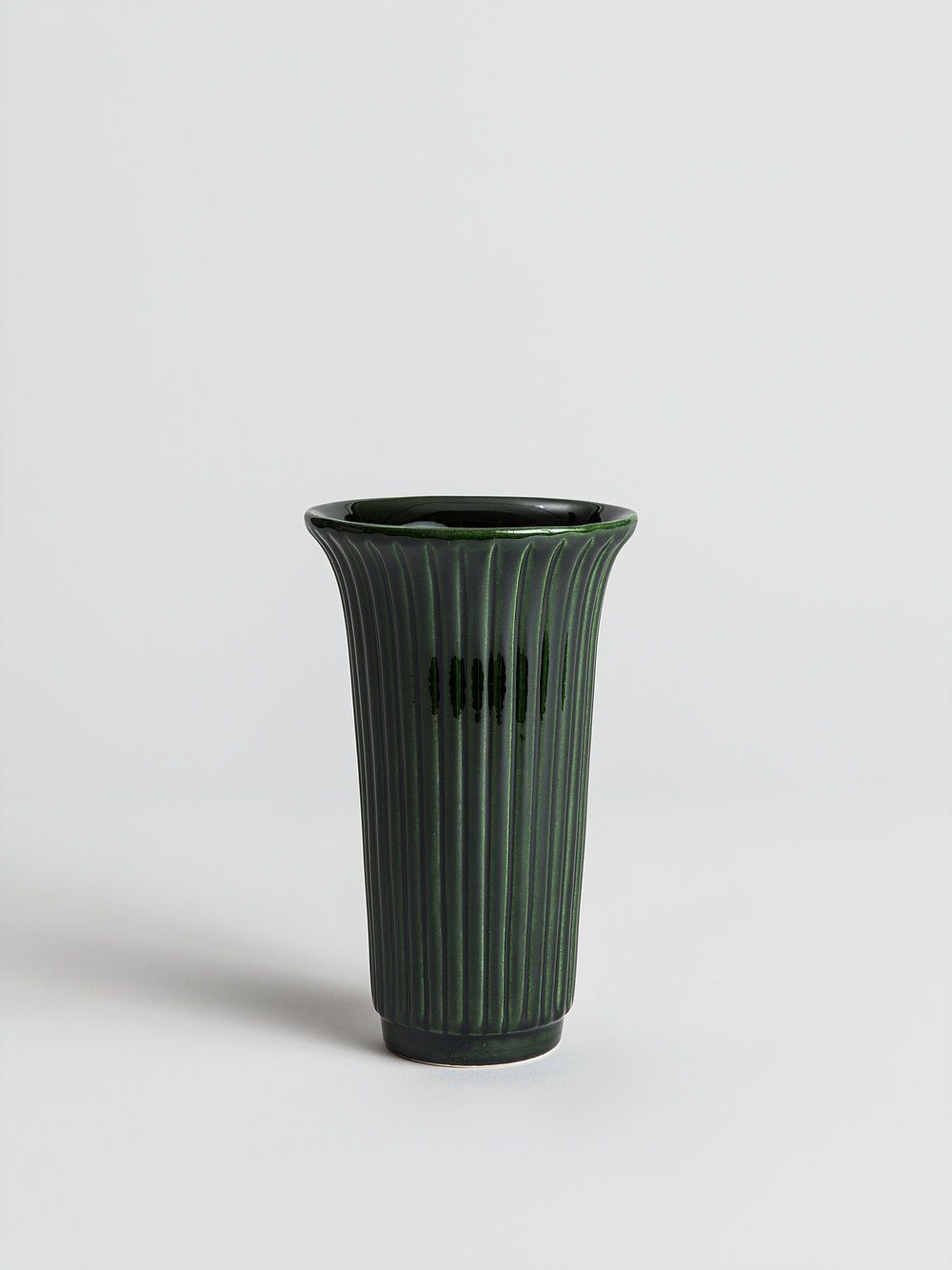Daisy Vase - Green Emerald