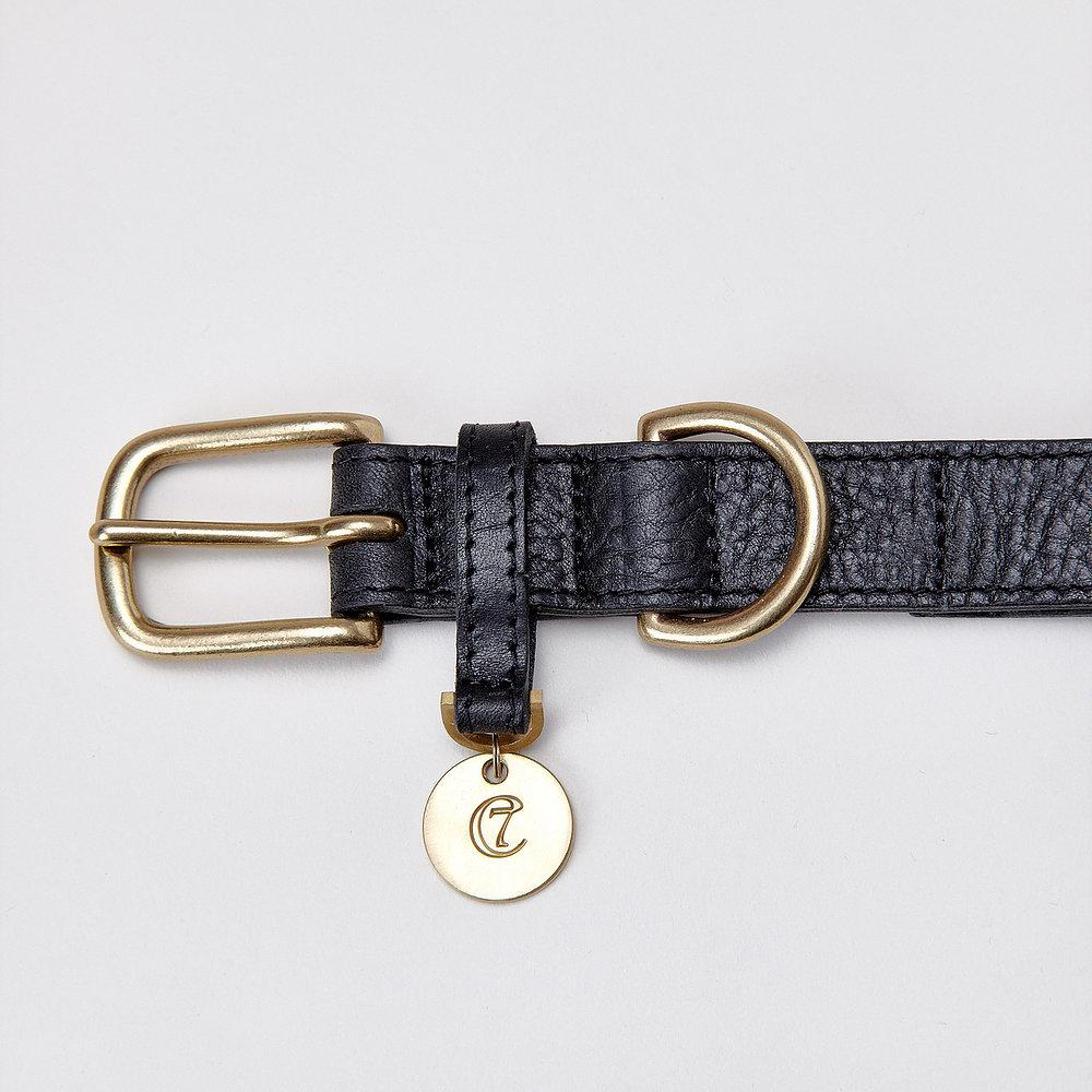 Dog Collar Hyde Park - Black
