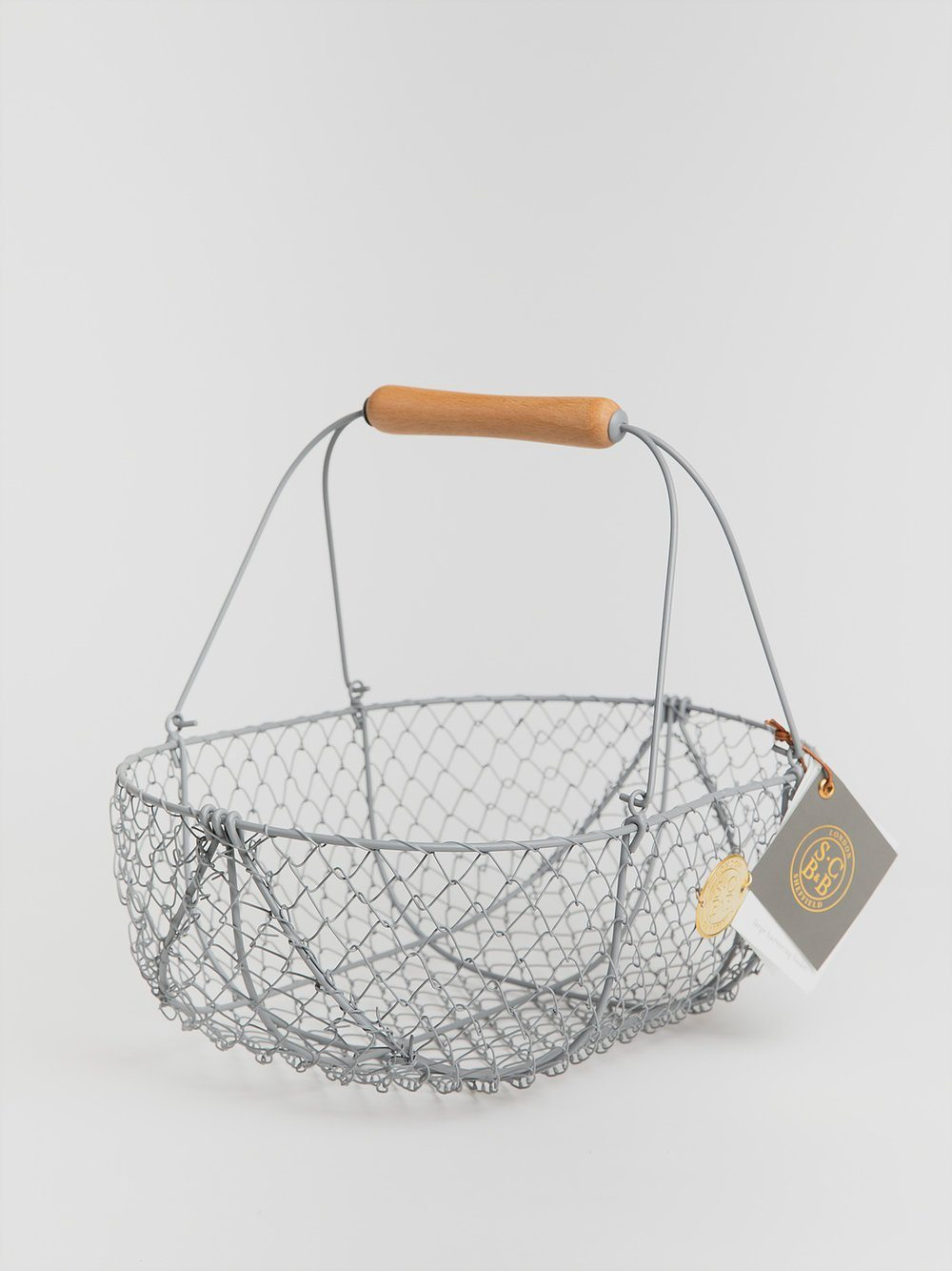 Metal Basket Baskets Burgon & Ball