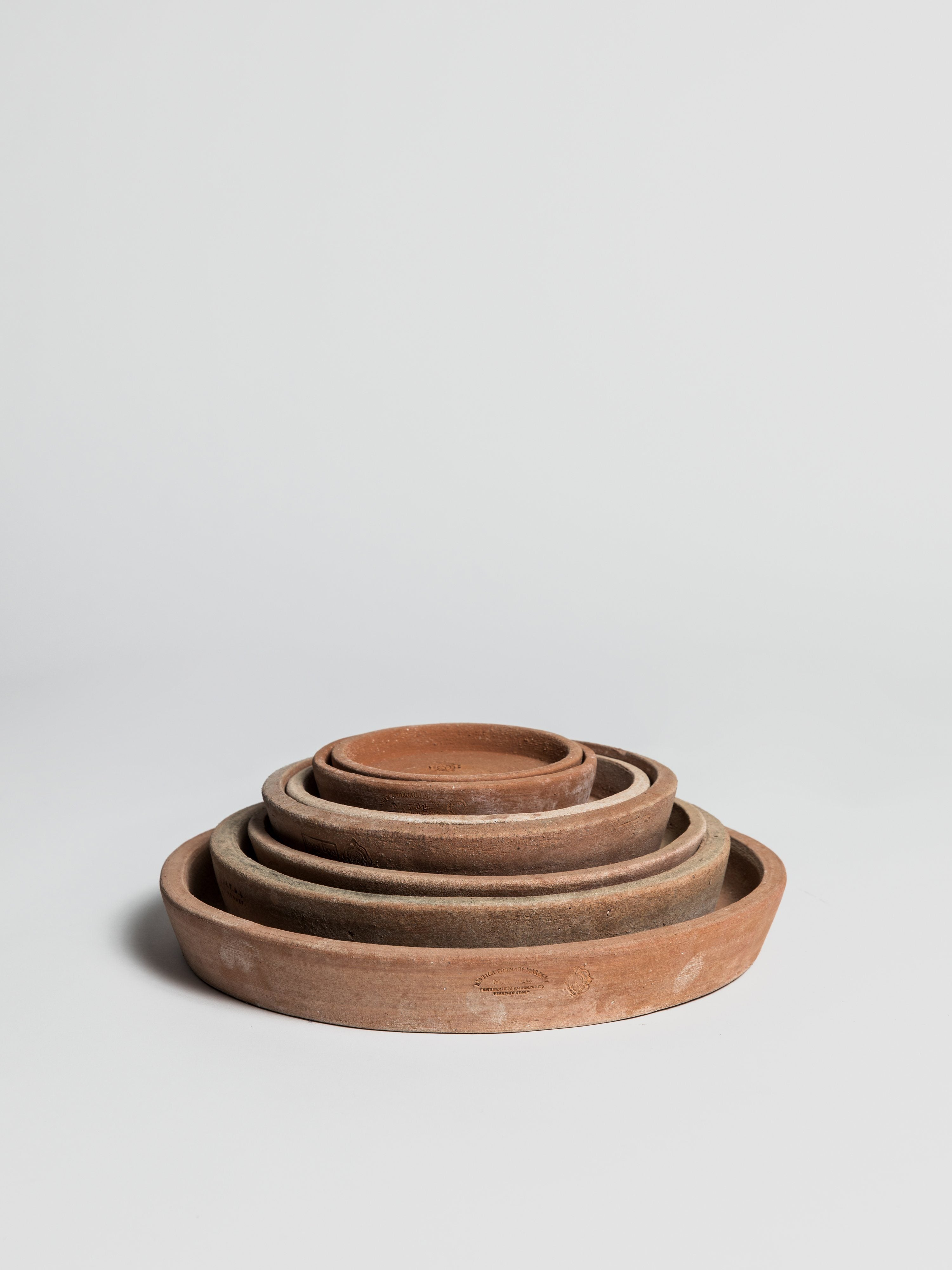 Mital Saucer Terracotta (without rim) Saucer M.I.T.A.L
