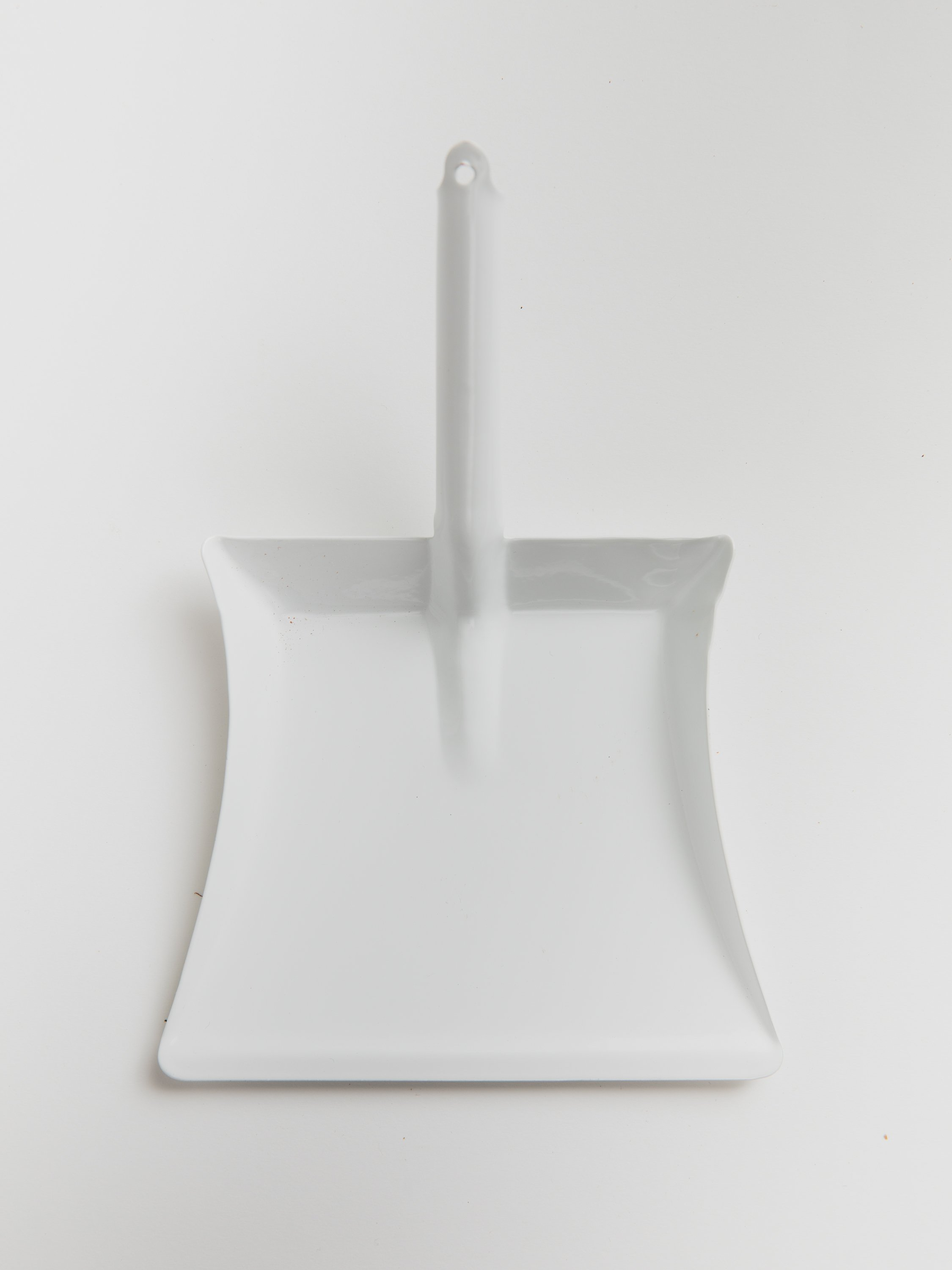 Small Dust Pan - White Dust Pan Redecker