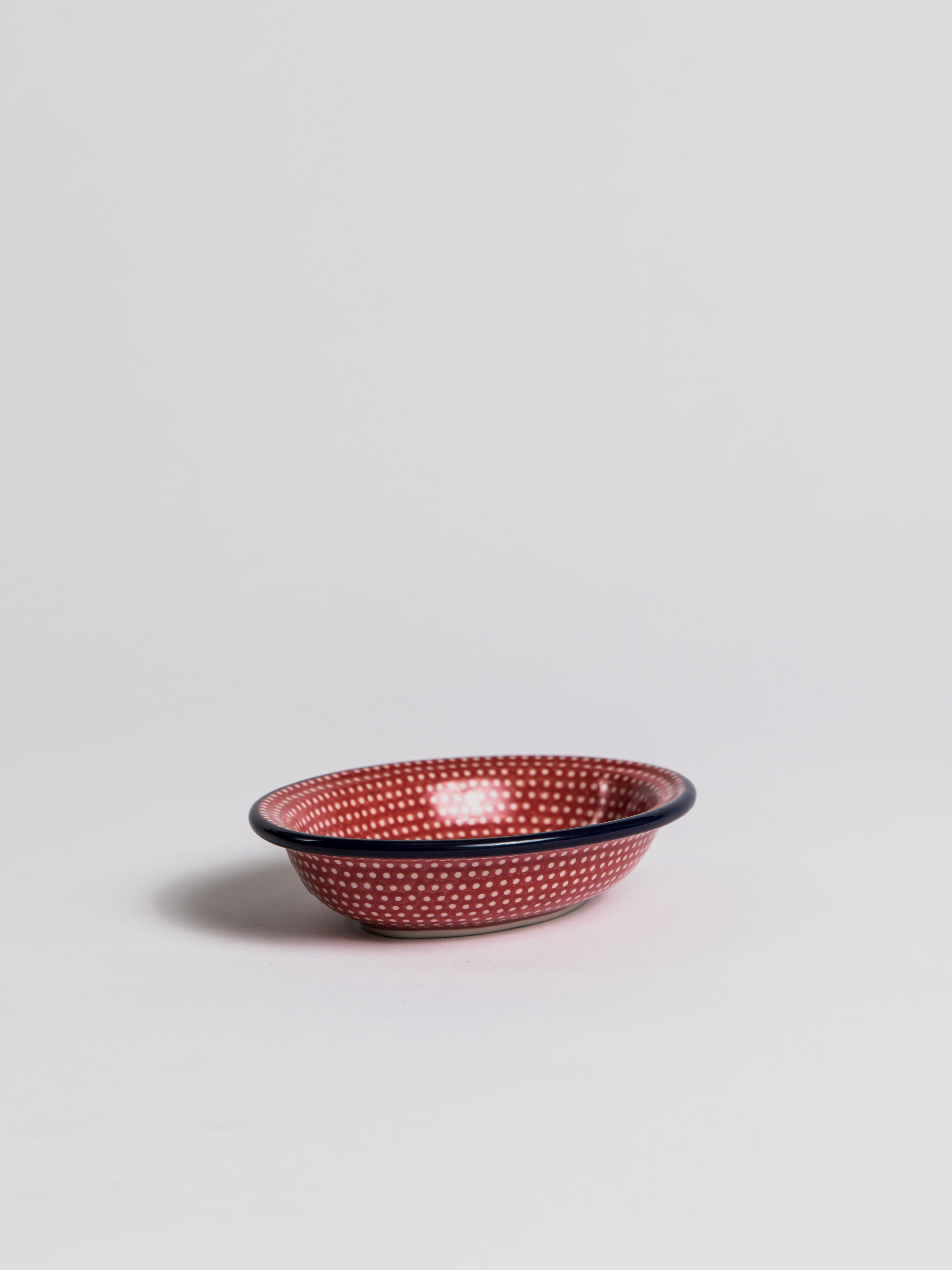 Soap Dish - Oval Red Soap Dish Redecker
