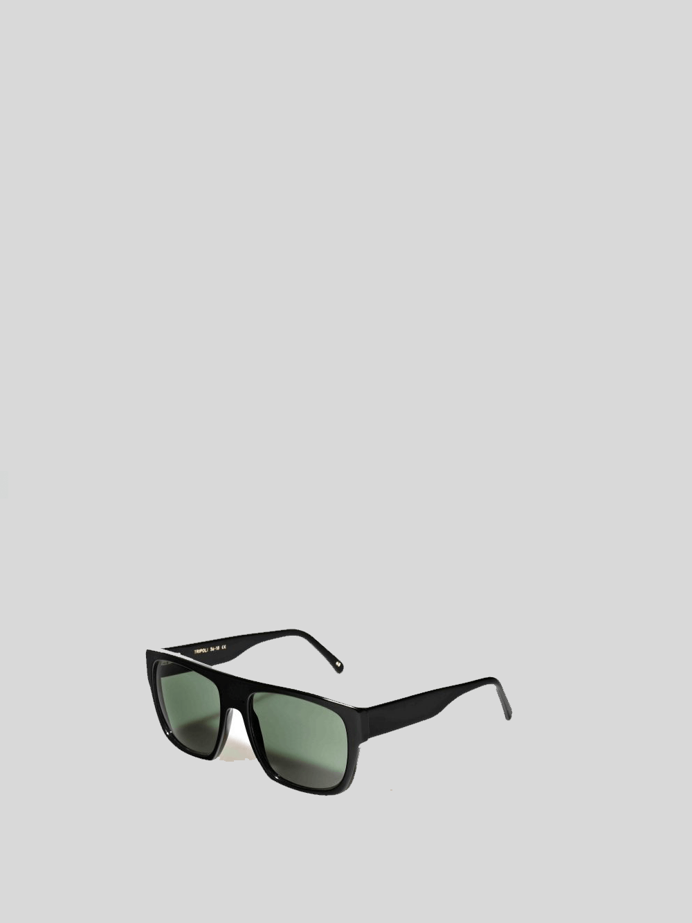 Tripoli Black 01 Green 56' Sunglasses L.G.R.