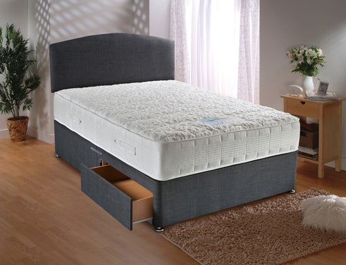 SENSACOOL 1500 5ft divan set and headboard