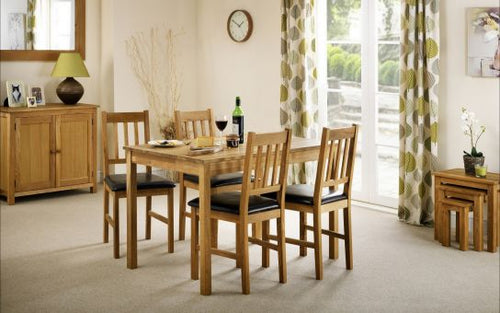 coxmoor table and 4 chairs