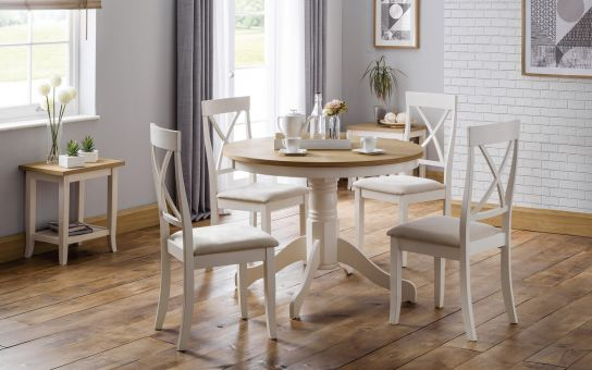 Davenport round table and 4 chairs