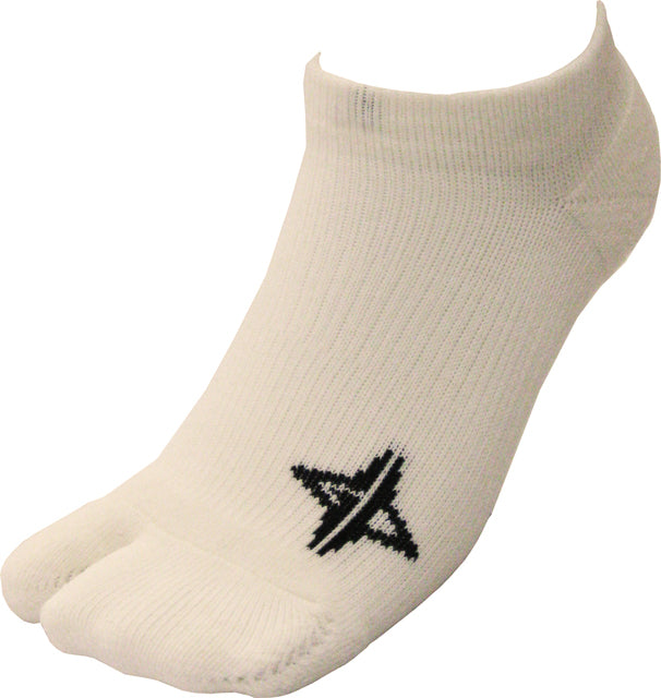 GRIP DROP Tabi socks short (White)
