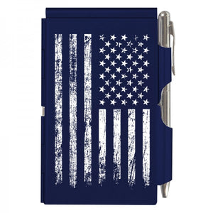 Flip Note - Distressed Flag Blue
