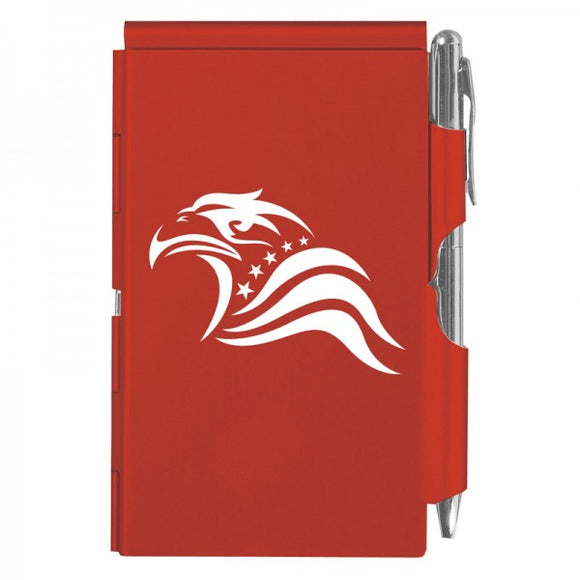 Flip Note - Patriotic Eagle Red