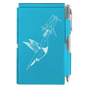 Flip Note - Hummingbird Bright Blue