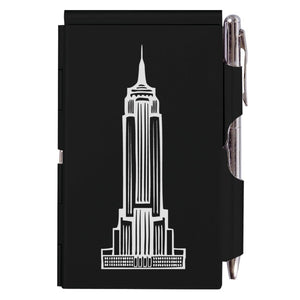 Flip Note - NY - Black Empire State Building
