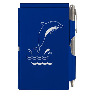 Flip Note - Royal Blue Dolphin