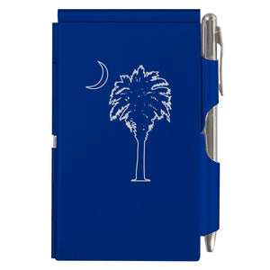 Flip Note - Royal Blue Palmetto