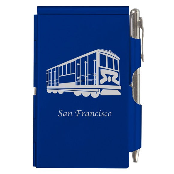 Flip Note - Royal Blue - Cable Car