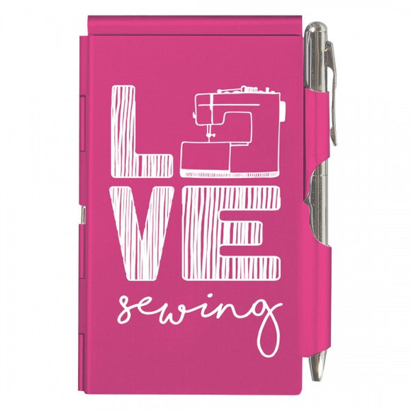 Flip Note - Love Sewing