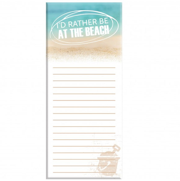 4x9 Note Pad - Beach