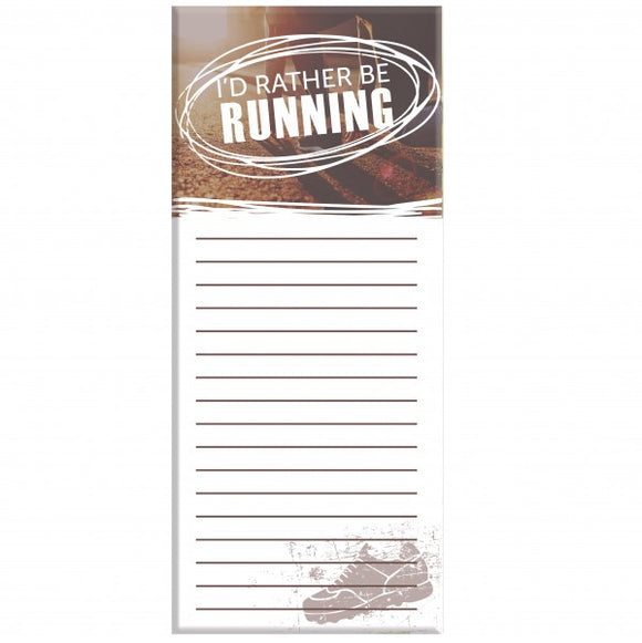 4x9 Note Pad - Running