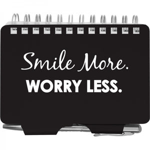 Password Book - Smile More Worry Less