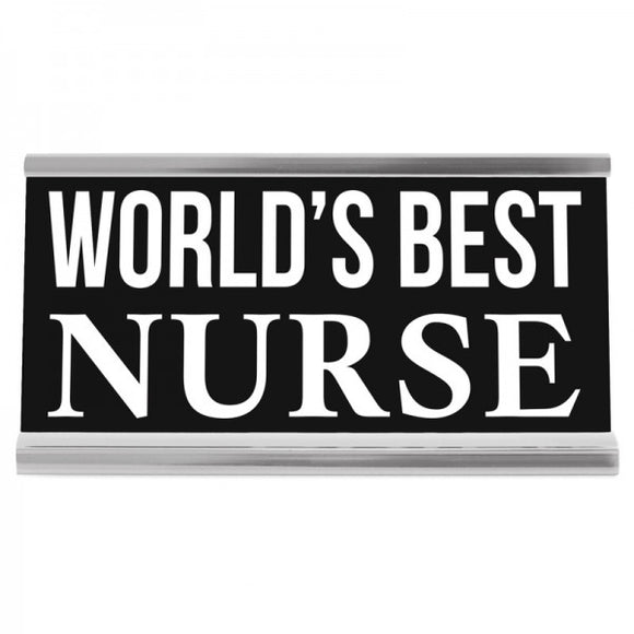 "4"" Desk Sign - Nurse"