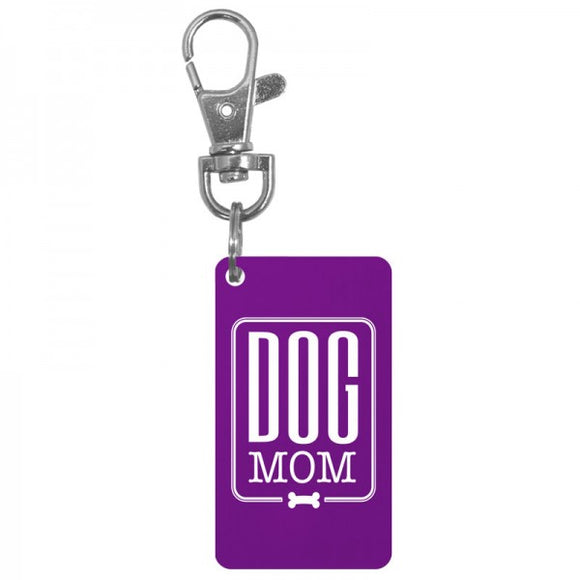 Keychain Charm - Dog Mom