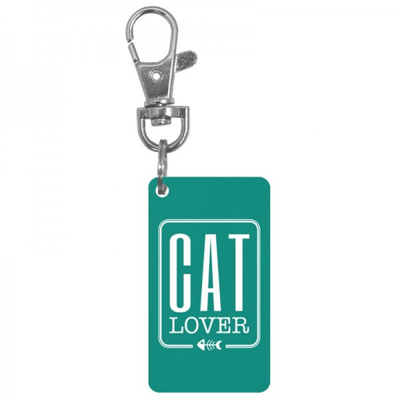 Keychain Charm - Cat Lover