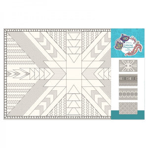 Coloring Placemats - Geometric Patterns