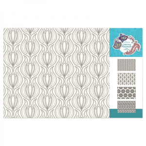 Coloring Placemats - Geometric Florals