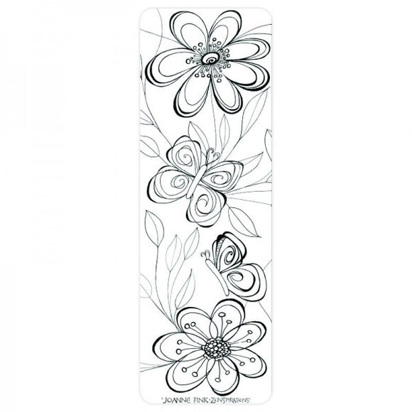 Coloring Bookmark - Butterfly