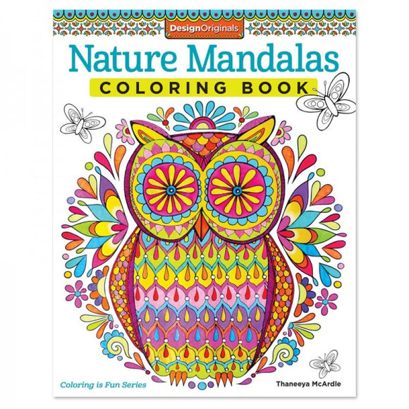 Coloring Book - Nature Mandalas