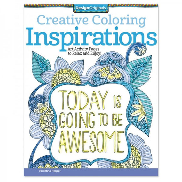 Coloring Book - Creative Coloring - Inspirations